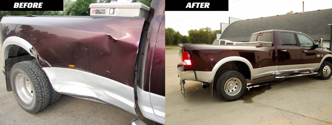 dodge ram before and after images