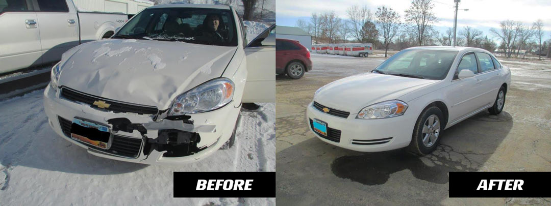 before and after chevy malibu